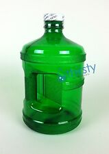 Green Water Bottle Half Gallon Polycarbonate Plastic Jug Container Canteen USA