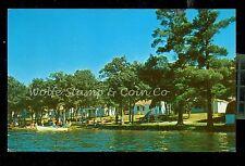 1950's Chrome Postcard Honer's Family Resort Cotton Lake Rochert MN  B757