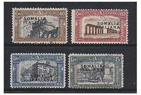 Somalia - 1927 First National Defence set - G/U - SG 104/7