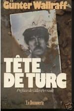 """Livre Récit Biographie """" Tête de turc  - G. Wallraff """" ( Book )  ( No 375 )"""
