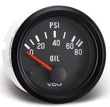 """VDO 80 PSI Oil Pressure Gauge Model 350-040   2 1/16"""" for Sand Rail VW"""