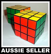 2 X Magic Cube Melbourne Stock 3x3x3 Super Fun Fast Game Toy Rubix Rubik Puzzle