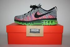 NIKE FLYKNIT MAX BLACK PINK GHOST GREEN UK7.5/US8.5/EU42 BNIB 620469-103