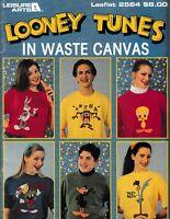 Looney Tunes in Waste Canvas Cross Stitch | Leisure Arts 2564
