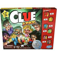 Hasbro Cluedo Junior Traditional Solve The Mystery Strategy Board Game - Ages 5+