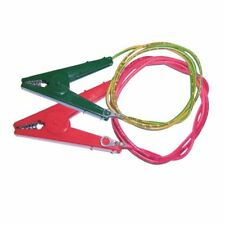 Rutland Crocodile Clip Live & Earth Set Electric Fencing Connection Energiser