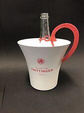 Taittinger Champagner Kühler Metall + Gießer Deko Ice Bucket NEU OVP