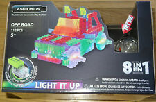 Off Road Truck Laser Pegs Power Block Light Up Construction Building Block Toy