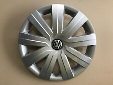 "2015 2016 VW VOLKSWAGEN JETTA S 15"" GENUINE OEM HUBCAP WHEEL COVER 5C0.601.147.D"