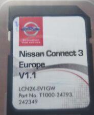 Nissan Connect 3 navegación SD Card Europa 2016 note, Juke, qashqai, micra, Cube