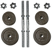 "New Pair of 1.25 2.5, 5 lbs Cast Iron Standard 1"" Plates Barbell Dumbbell Weight"