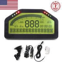 Car Dash Race Display Bluetooth for OBD2 Race Dashboard LCD Gauge SINCOTECH #USA