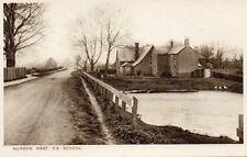 MURROW WEST C.E. SCHOOL - Cambridgeshire - Vintage Postcard (SC87)