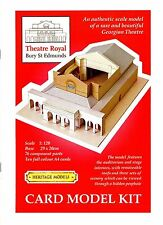 Georgianisches Papiertheater 1:120 Theatre Royal Bury St. Edmunds Bastelbogen