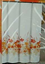 Tahari Fabric Shower Curtain Lady Floral Multi-Colored 72 x 72