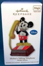 2011 Mickey's Talking Telephone Disney Hallmark Ornament