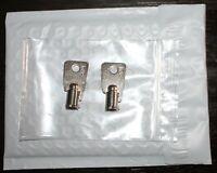 2 Keys for Homak Safe round tubular key Licensed Locksmith. HMC26251-HMC26500