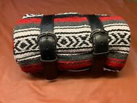 La Rosa Mexican Blanket Roll New Buckle Design