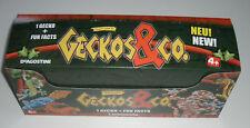 DeAgostini Geckos & Co. - 1 x Display / 20 Booster NEU & OVP