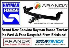 Hayman Reese Tow Bar HOLDEN CAPRICE & STATESMAN WH WK WL (1999-2006) 2100kg
