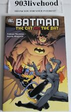 SIGNED DC COMICS BATMAN THE CAT & THE BAT TPB TRADE GRAPHIC GN NICIEZA & MAGUIRE