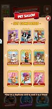 Coin Master Cards Pet Saloon Set White Cards (3cards total)