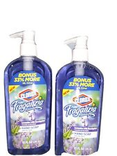 (Clorox) 2 pack Fraganzia Lavender Eucalyptus Liquid pump Handsoap 10oz