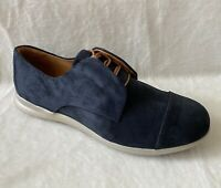 Samuel Hubbard Women's Freedom Now Shoes Midnight Blue Suede 8