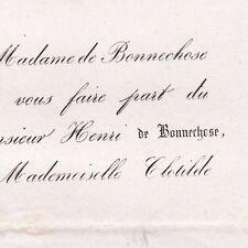 Louis Henri De Bonnechose Pont-l'Evêque Calvados 1864