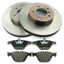 Discos de Freno 324mm Ventilado Forros Delantero BMW 5 Serie 5 E60 E61 6 E63 E64