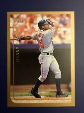 1999 Topps #15 MANNY RAMIREZ Cleveland Indians Great Card Look !