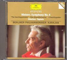 NIELSEN - Symphony 4 / SIBELIUS - Tapiola - Herbert Von KARAJAN - DG