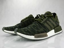 524509a71 Adidas NMD R1 Night Cargo Glitch Green CQ2445 Mens S Shoes Size 10 New  Sneakers