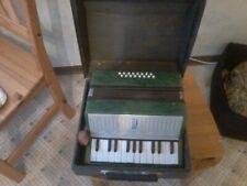 Russische Ziehharmonika,  KPblMA40K,grün