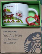 Starbucks You Are Here YAH Ornament City Mug Ungarn Hungary, 2 oz neu, SKU, OVP