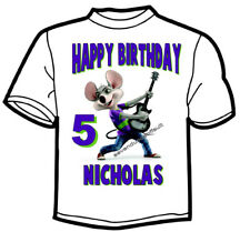 Custom Personalized Chuck E Cheese Birthday T Shirt Add Name And Age