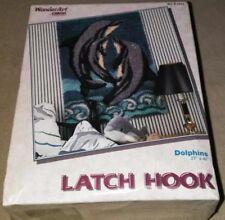 DOLPHINS-Latch Hook Kit brand new SEALED
