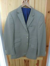 Mens Simon Carter Stone / Beige Blazer Jacket - 40 Regular