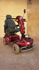 Scooter Elettrico 4 Ruote per Disabili - Rosso