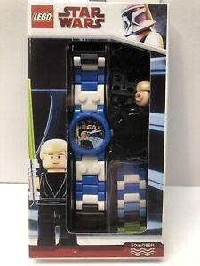 LEGO 9002892 Luke Skywalker Watch 2009 Star Wars with Luke Skywalker Minifigure!