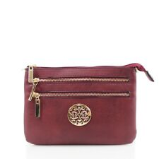 f3fbc38b8f Ladies Women Designer Casual Across Body Bag Zipper Messenger Shoulder Bag