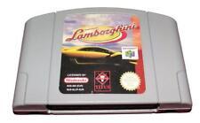Lamborghini Nintendo 64 N64 PAL