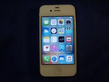 White Apple iPhone 4s GSM Unlocked 8GB model A1387                           y0z