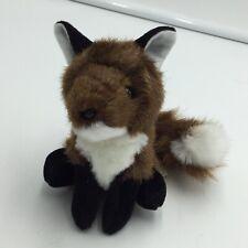 "Folkmanis Fox Finger Puppet Plush Soft Toy Pretend Play 4"""