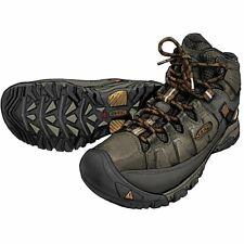 DULUTH TRADING Men's KEEN Targhee III Mid Leather Waterproof Boots Black Olive
