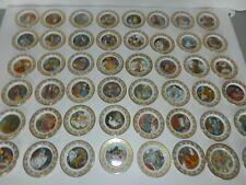 Set of 48 Franklin Mint Best Loved Fairy Tales Mini Plates Signature Edition