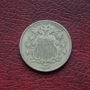 USA 1867 nickel 5 cents