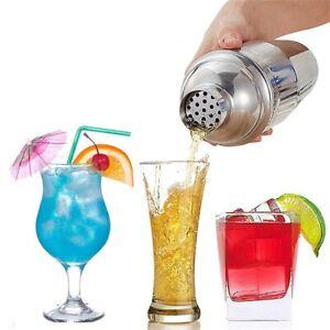 750ml Cocktail Shaker Stainless Steel Drink Shaker Rustproof Martini Mixer