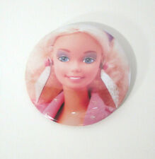 """1985 """"Barbie and the Rockers"""" button pin vintage collectible doll image art new"""