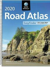 USA Road Atlas 2020 BEST Large Scale Travel Maps United States NEW